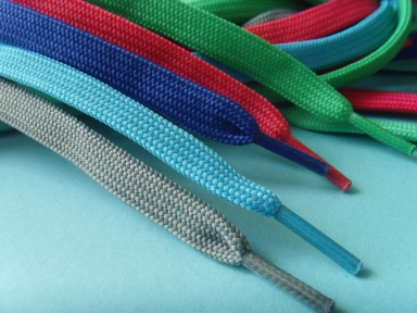 cheap flat tubular shoelace