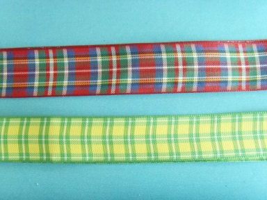 colorful polyester sheer ribbons