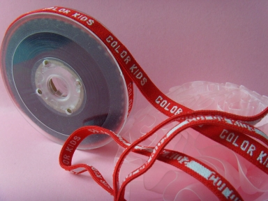 Soft nylon custom elastic webbing