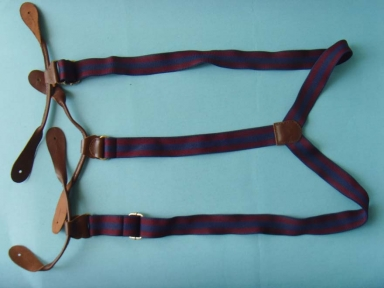plain children leather suspenders