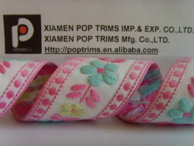 Customize High Quality Woven Jacquard Ribbon